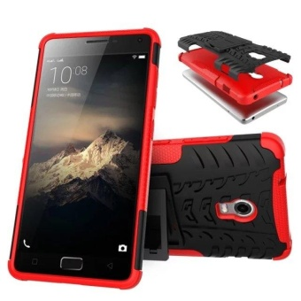 Compatible for Lenovo Vibe P1 Dual Layer 2 in 1 Rugged RubberHybrid Protective Armor Phone Cover Case VROOM - intl