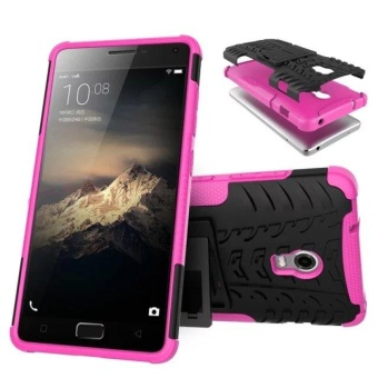 Compatible for Lenovo Vibe P1 Dual Layer 2 in 1 Rugged RubberHybrid Protective Armor Phone Cover