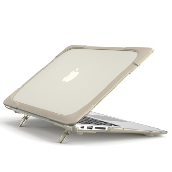 Compatible for Macbook Air 13 inch Shockproof Protective Built inStand Hard Tablet Cover Case - intl