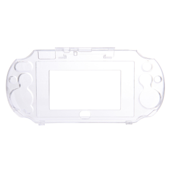 Crystal Protect Hard Guard Shell Case For Sony PS Vita PSV(Clear)