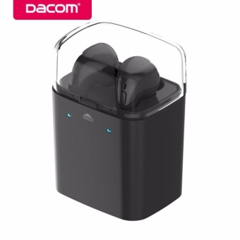 Dacom GF7 tws 4.2 Handsfree Noise Canceling Headphone HeadsetStereo Wireless Bluetooth Earbuds Earphone with Mic for MobilePhone Airpods - intl