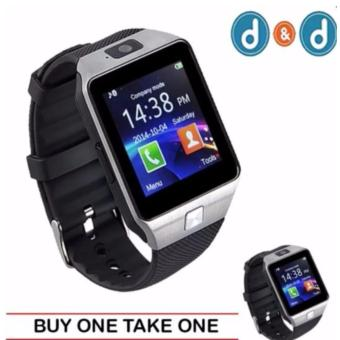 D&D 09 Quad Phone Bluetooth Touch Screen Smart Watch (Black)(BUY ONE TAKE ONE) Price Philippines