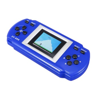 "Digital Colorful 1.8"" Screen Pocket Portable Classic Game Console with 288 games Blue - intl Price Philippines"
