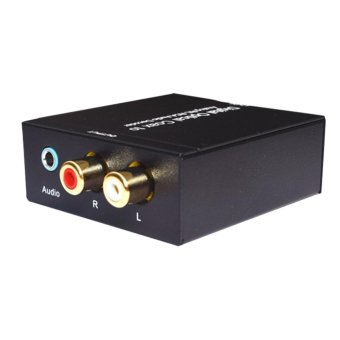 Digital Optical Coax to Analog R/L RCA Audio Decoder Converter -intl Price Philippines