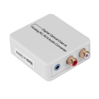 Digital Optical Toslink Coax to Analog R/L/RCA 3.5mm Audio Converter Adapter Price Philippines