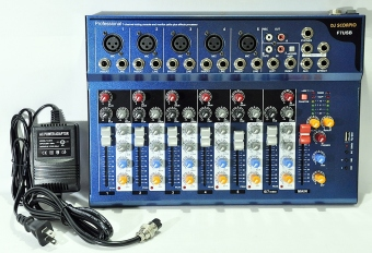 DJ Scorpio F7USB Audio Mixer Price Philippines