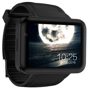 DM98 Bluetooth Smart Phone Watch with 0.3MP camera(Black) - intl Price Philippines