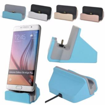 Dock Charger Stand for Android Smart Phones (blue)