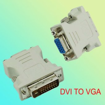 DVI 24+5 to VGA Adapter