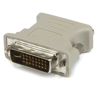 DVI 24+5 to VGA Male to Female Adapter for HDTV TV