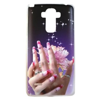 Elegant Hand Design Hard Case for LG G4 Stylus (Multicolor)
