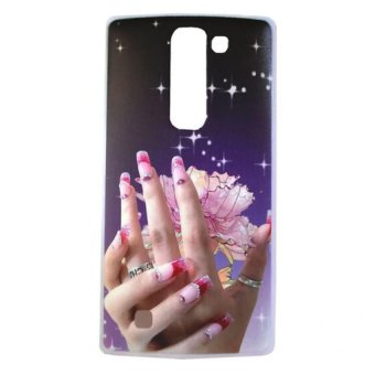 Elegant Hand Design Hard Case for LG Magna (Multicolor)