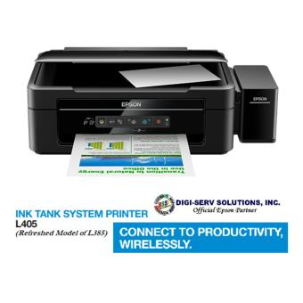 Epson L405 All in one WiFi Inkjet Color Printer Ink Tank System - NEW EPSON L-SERIES (Refreshed Model of L385)