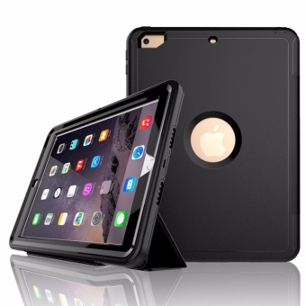 "Extreme Hybrid Shockproof Case for Apple iPad 2017 (9.7"") (Black) Price Philippines"