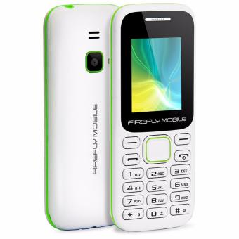 Firefly Mobile F1 (Compact Camera Phone, Dual-Sim, Hi- Capacity 600 mAh Battery, Champion White)