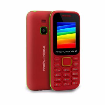 Firefly Mobile F1 (Compact Camera Phone, Dual-Sim, Hi- Capacity 600 mAh Battery,Velvet Red) Price Philippines