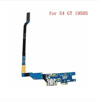 Flex Cable Ribbon Charging Block Port Connector For Samsung Galaxy S4 GT i9505 - intl