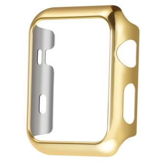 For Apple iWatch 38mm Sport Protection Hard Plastic Case (Gold)