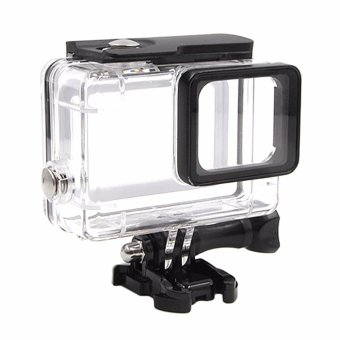 For Gopro Accessories 45m Underwater Waterproof Housing Case ShellProtector For Gopro Hero 5 Surfing & Diving Housing frame -intl