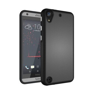 For HTC Desire 530 630 Ultra Slim Anti-Slip Shockproof Phone BackCase Cover (Black) - intl