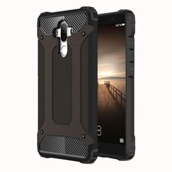 For Huawei Mate 9 Tough Armor TPU + PC Combination Case (Black) - intl