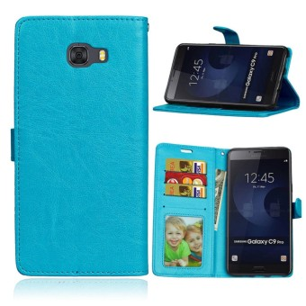 for Samsung Galaxy C9 Pro / SM-C9000 Case Cover - Classic Fashion Style Wallet