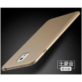 For Samsung Galaxy Note3/N9006 360 degrees Ultra-thin PC Hard shellphone case/Royal gold - intl