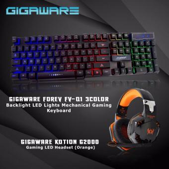 FOREV FV-Q1 3Color Backlight LED Lights Mechanical Gaming Keyboardkotion g2000 orange