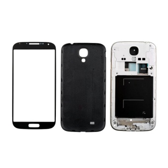 Full Housing Case Screen Glass Lens tools For Samsung Galaxy S4 i9500 - intl