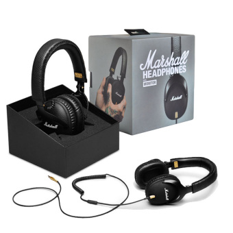 Genuine Monitor Major Headphones With Mic Deep Bass DJ HiFi Headset (Black) - intl