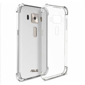 "German Import Shockproof Silicone Clear Case for ASUS Zenfone 3(5.5"") (ZE552KL) (Clear) Price Philippines"