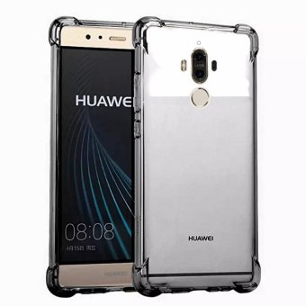 German Import Shockproof Silicone Clear Case for Huawei Mate 9(Smoke Grey) Price Philippines