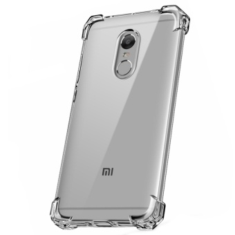 German Import Shockproof Silicone Clear Case For Xiaomi Redmi Note4X (Clear)