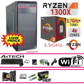 Gigabyte CPU 8GB, AMD Ryzen 3 1300X Quad-Core AM4, 3.7GHz, 65W.WiFi Ready. Price Philippines
