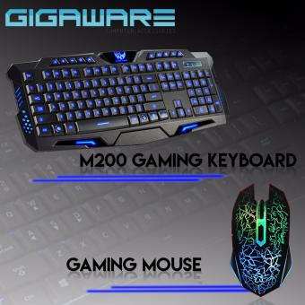 Gigaware Gaming Essentials M200 Gaming Keyboard and Gaming Mouse Price Philippines