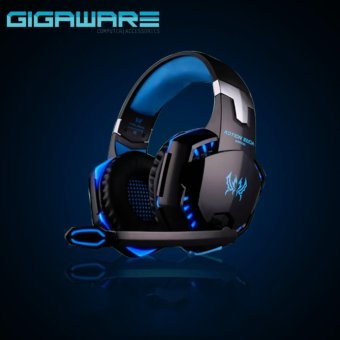 Gigaware Kotion G2000 Gaming LED Headset (Blue) Price Philippines