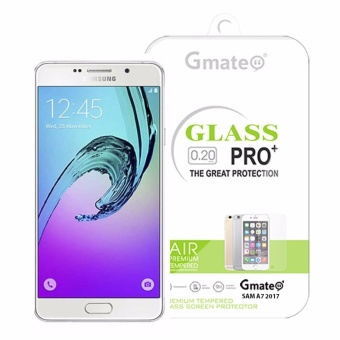 Gmate Tempered Glass Screen Protector For Samsung A7 2017