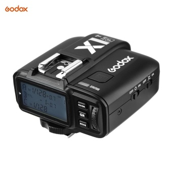 Godox X1T-F 2.4G Wireless TTL Flash Trigger 1/8000s HSS 32 Channels Flash Trigger Transmitter with LCD for Fuji X-Pro2 X-T20 X-T2 X-T1 X-Pro1 X-T10 X-E2 X-A3 X100F X100T Series Cameras - intl
