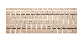 Gold Keyboard Protector For Apple Mac-book 13.3 Inch Air / Pro /Retina -(Intl)