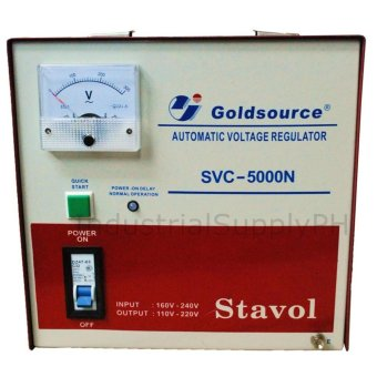 Goldsource SVC-5000N Automatic Voltage Regulator (AVR) Price Philippines