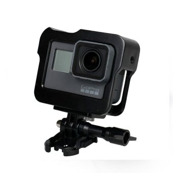 Gopro Hero 5 Accessories CNC Aluminum Case Metal Protective HousingFrame For Gopro Hero 5 Black - intl