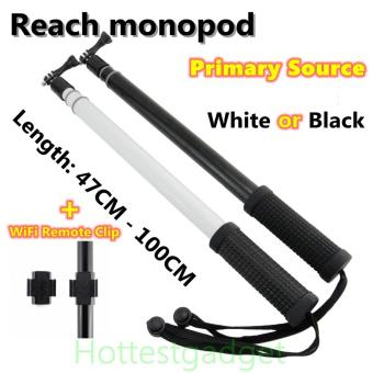 GoPro Selfie Stick 49-100cm Remote Pole Aluminium Telescoping Extension Monopod +Screw Gopole For Gopro Hero 4 3+/3/2 SJ4000