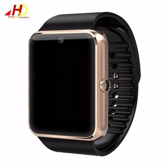 GT08 Bluetooth Smartwatch Smart Watch with SIM Card Slot and 2.0MPCamera (Gold/Black)