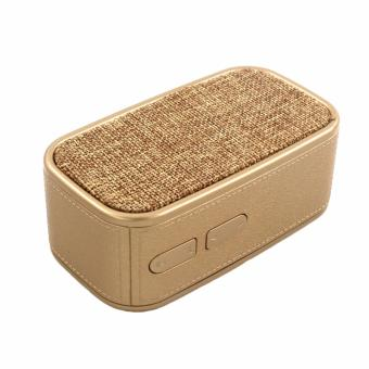 HDY-N11 New Music Wireless Portable Bluetooth Speaker (Gold)