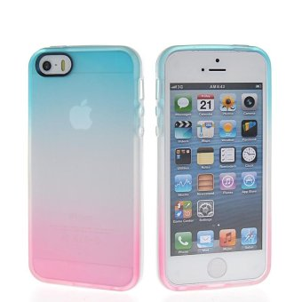 Hicase Soft TPU Silicone Back Cover Cell Phone Case For iPhone 5 /5S / SE - intl