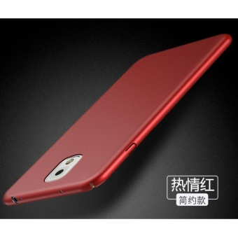 High quality 360 ultra-thin matte PC hard Cover Case For Samsung Galaxy Note3(N9006(Red) - intl
