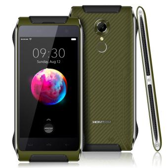 HOMTOM HT20 Pro Outdoor Ragged Tough Smartphone 3GB RAM 32GB ROM Green - intl