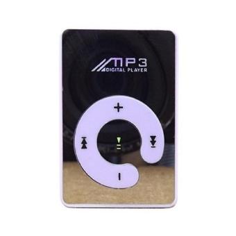 Hot Sale MP3 Music Player Loudspeakers Mini Mirror Clip USB DigitalMp3 Music Player MP3 Player (