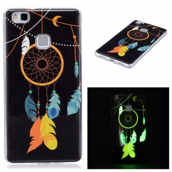 Hot Upscale Wind chimes Noctilucent TPU Soft Gasbag Back Case Cover For Huawei .