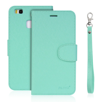 Huawei g9/p9lite flip-style leather cover phone case